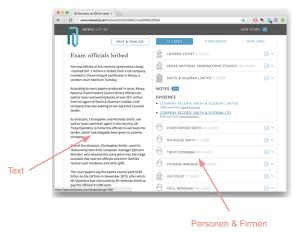 newsclip.se Prototyp